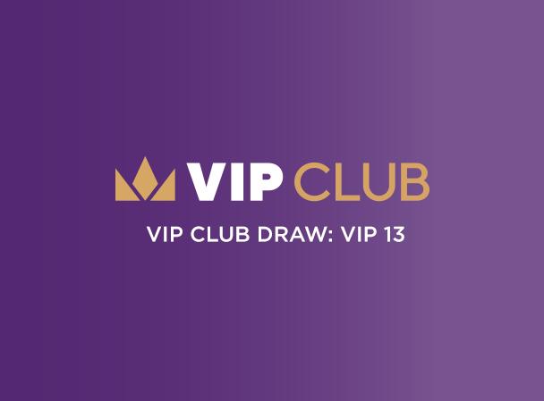 VIP13 Heroes Draw Winner